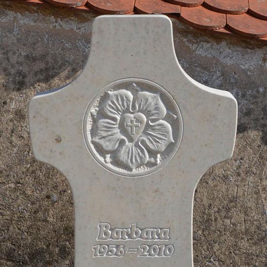 Einzelgrabstein Barbara
