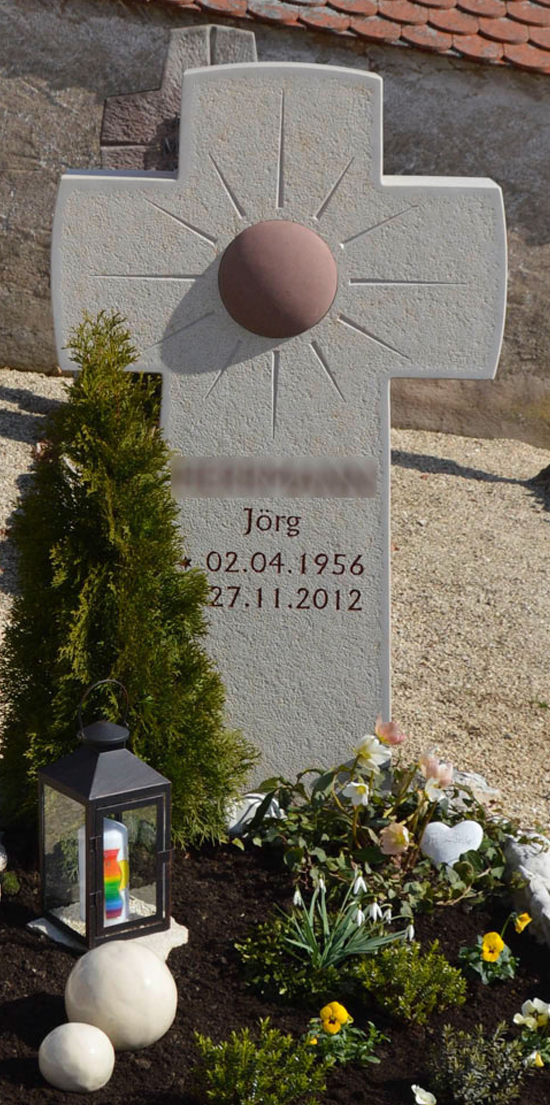 Einzelgrabstein Jörg